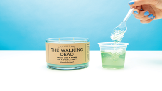 Whiskey River Candles - The Walking Dead