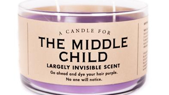 Whiskey River Candles - Middle Child