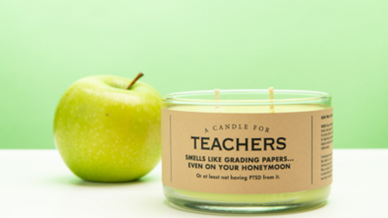 Whiskey River Candles - Teachers