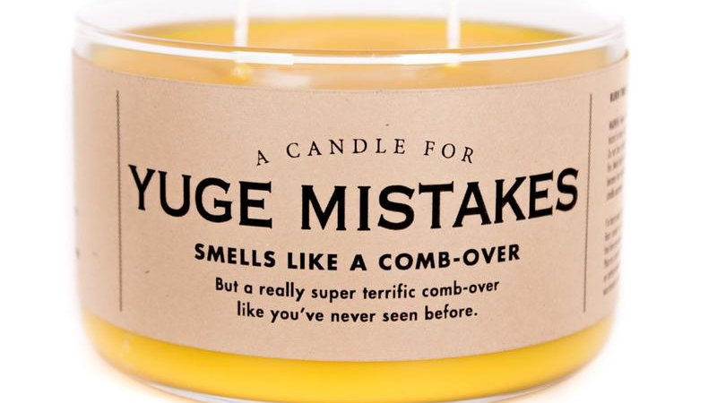 Whiskey River Candles - Yuge Mistakes