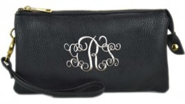 Small Monogrammable Crossbody/Clutch/Wristlet