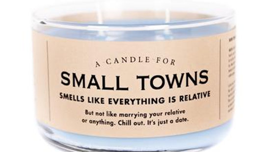 Whiskey River Candles - Small Towns