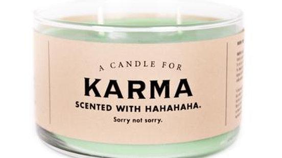 Whiskey River Candles - Karma
