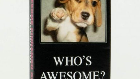 Blue Q Gum -Who's Awesome?