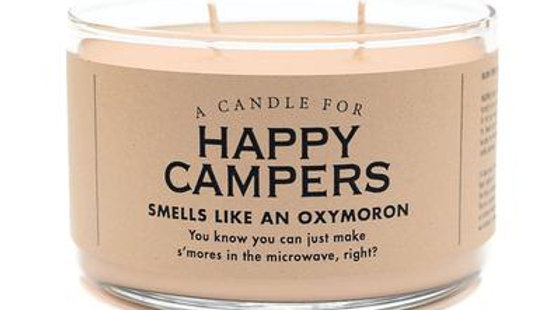 Whiskey River Candles - Happy Campers