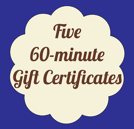 Series of Five 60-minute Massages