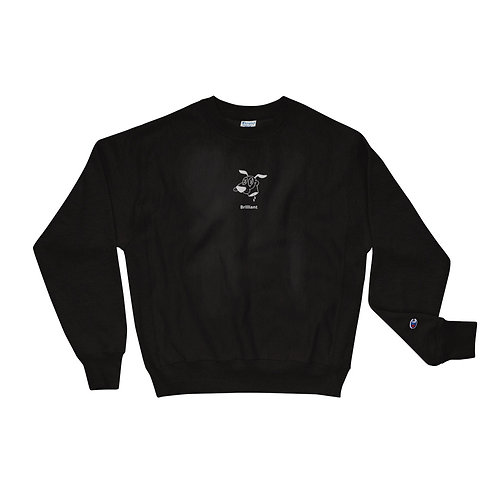 courage embroidered crew