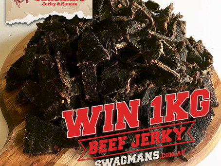 Win a KG of Beef Jerky for Fathers Day
