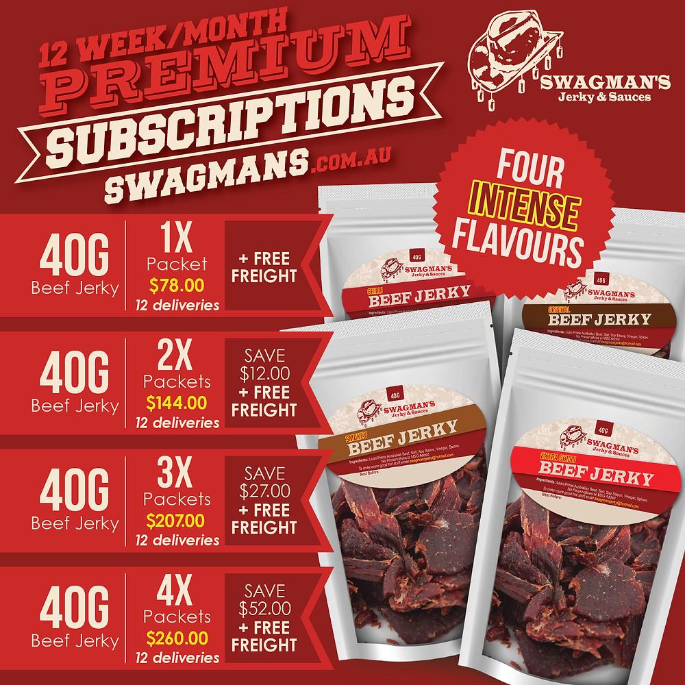 Beef Jerky Subscription Australia