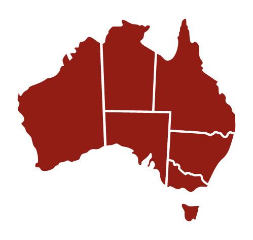 Australian Jerky Map