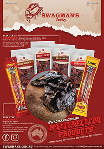 Swagmans Jerky Wholesale flyer