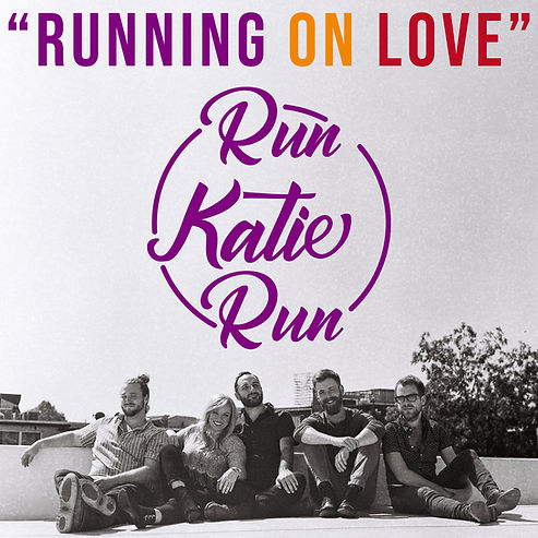 Run Katie Run RUNNING ON LOVE E.P. Cover