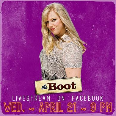 The boot livestream run katie run kate c