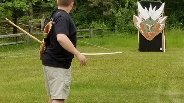 D & D creator honored at archery event by his son