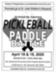 pickleball paddle battle in st   genevie