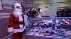 Père Noël chez Boucherie Moderne 10 rue du Poteau