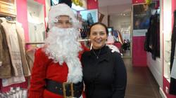 Père Noël chez Clair de lune - 119 bis rue Ordener