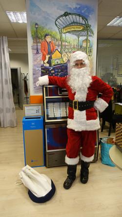 Père Noël chez MMA - 135 rue Ordener