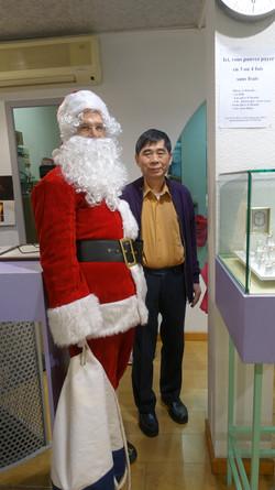 Père Noël dans la Bijouterie Comptoir Ordener - 94 rue Ordener