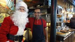 Père Noël chez Café d'Albert 117 rue Ordener