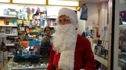 Père Noël chez Librairie Papyrus - 82 rue Ordener