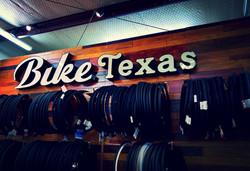 Bike Texas Tire Wall