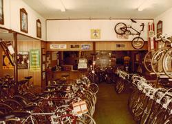 Vintage 70's bike shop.