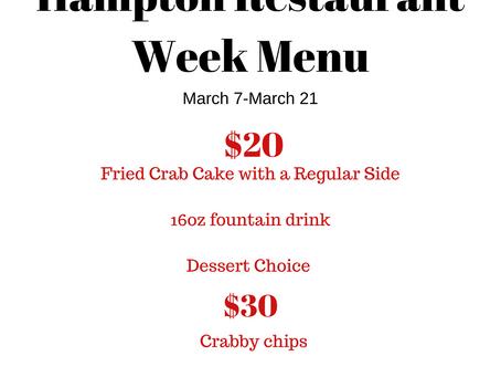 Hampton Restaurant Week