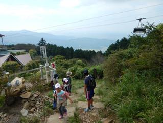 Jキッズ 筑波山登山