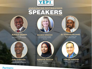 Announcing Keynote Speakers for #YESMombasa2019.