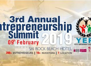 YEPI To Host It's Third Annual Entrepreneurship Summit 2019