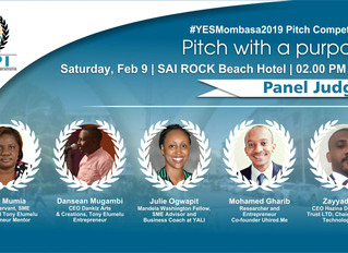 Judges Announced for the 2019 YEPI Entrepreneurship Summit Pitch Competition!