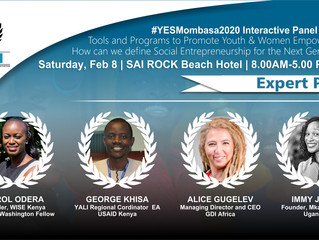 Announcing our Panelists for the Topic: Tools and Programs to Promote Youth and Women Empowerment