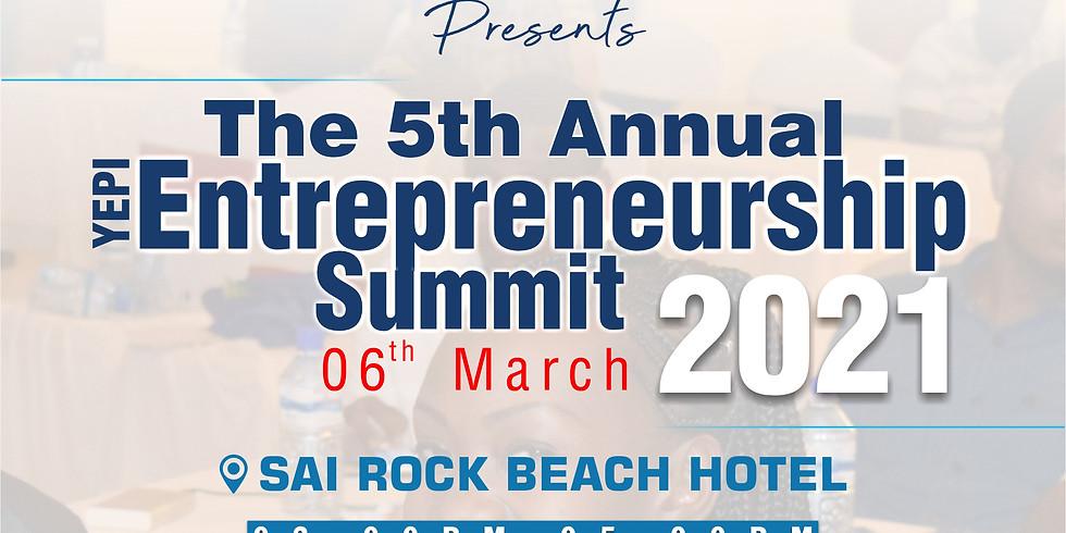 The 5th Annual YEPI Entrepreneurship Summit - #YESMombasa2021