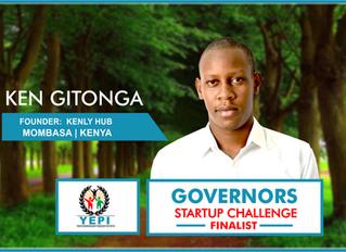 Meet Ken Gitonga of Kenly Hub, #GSC2018 Finalist