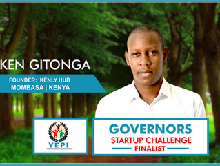 Meet Ken Gitonga of Kenly Hub, #GSC2018 Finalist