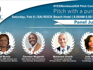 Judges Announced for the 2020 YEPI Entrepreneurship Summit Pitch Competition!