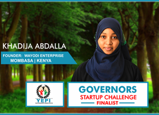 2018 Governors Startup Challenge Finalist, Khadija, Shares her story.
