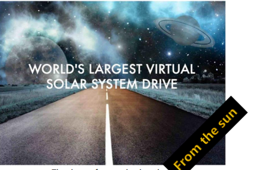 From the Sun Virtual Solar System Drive Tour  with Fred Watson