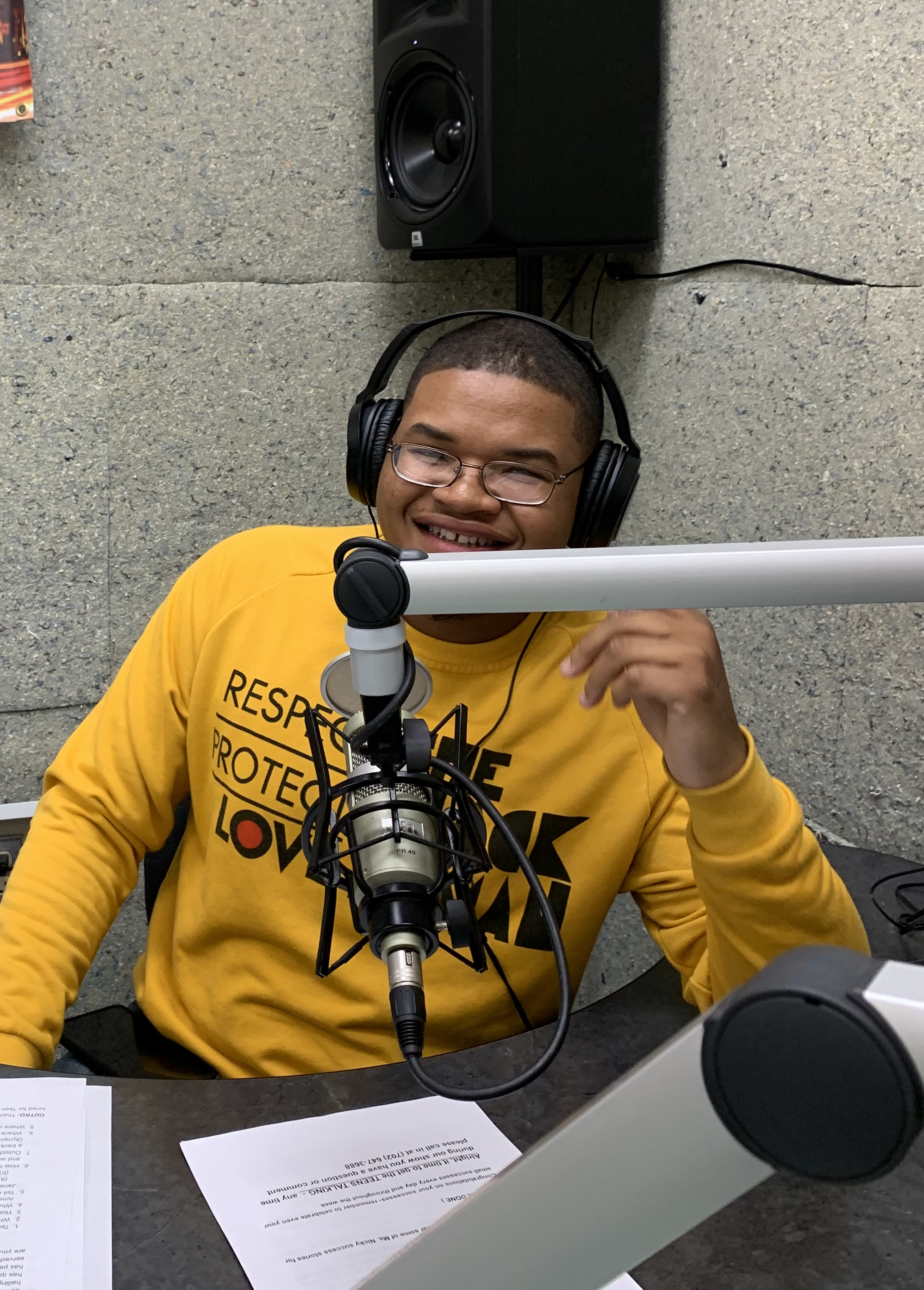 Teen Talk Producer DeSean Brewer