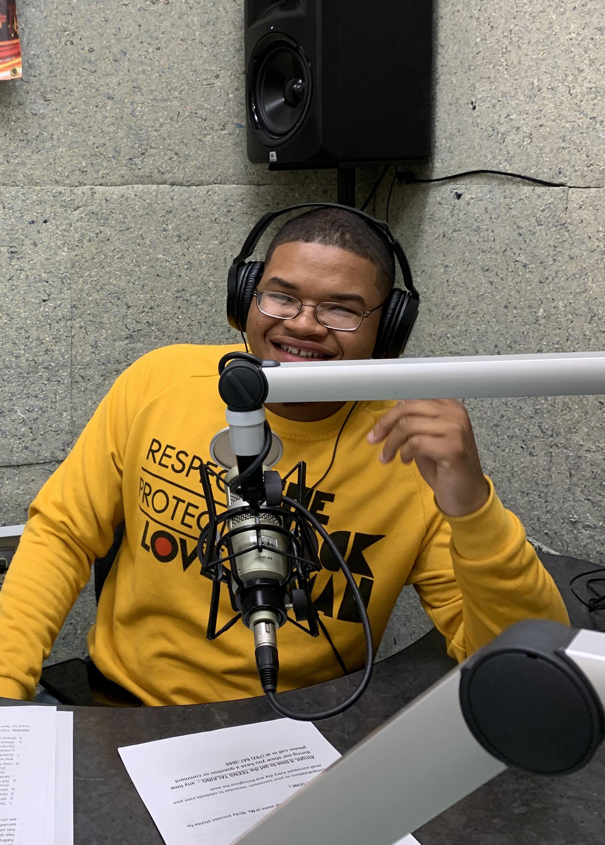 Teen Talk Producer DeSean Brewer