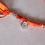 Thumbnail: Recycled Sari Hairwrap-Medium, Oranges