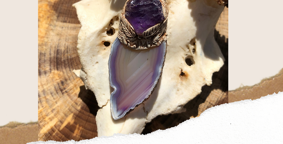 Amethyst and Agate
