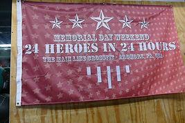 24 Heroes in 24 Hours - Memorial Day Weekend - The original 24 Hour Hero WOD endurance event