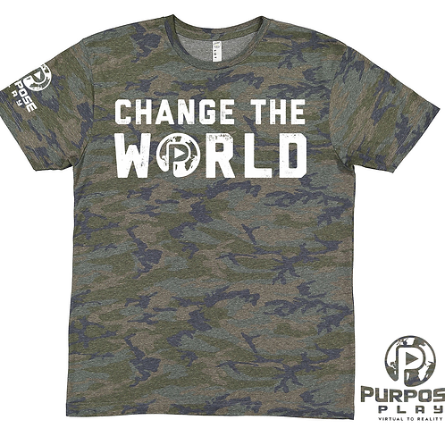 Change the World Camo Tee