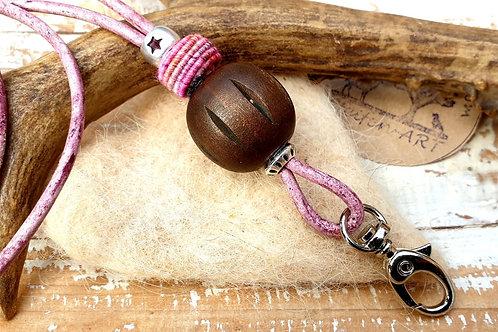 Pfeifenband Elfenmorgen rosa Band