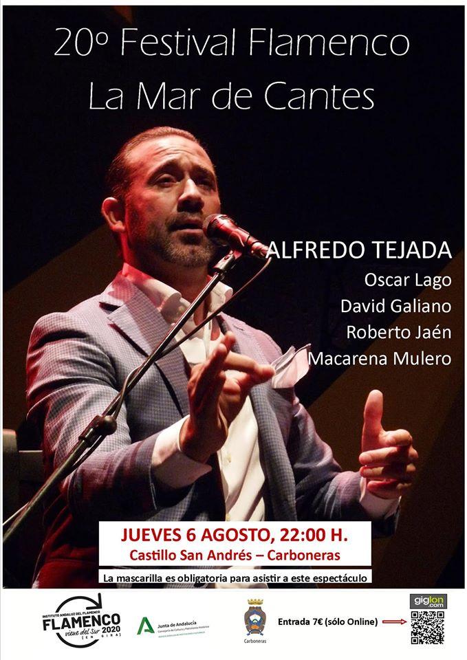 El 20º Festival Flamenco La Mar de Cantes de Carboneras