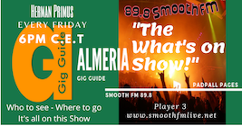 Almeria Gig Guide What's on