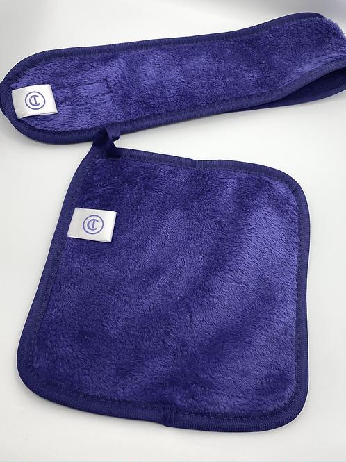 CT Pro Headband and Makeup Remover Cloth Bundle
