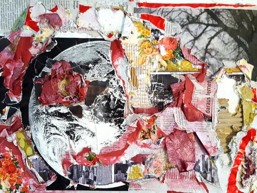 Collage-Techniken - wenn aus einzelnen Schnipseln ein heilsames Ganzes wird.